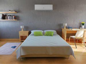 ar condicionado ambiente quarto - via serv